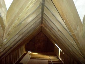 Loft conversions roof by carpenters in Hampshire
