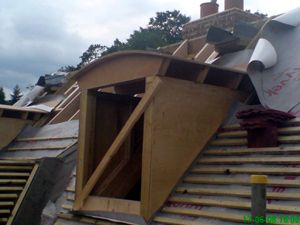 Window installation in roof by W.A. Building Services | Carpenters for Roofs